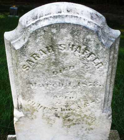 SHAFFER, SARAH - Montgomery County, Ohio   SARAH SHAFFER - Ohio Gravestone Photos