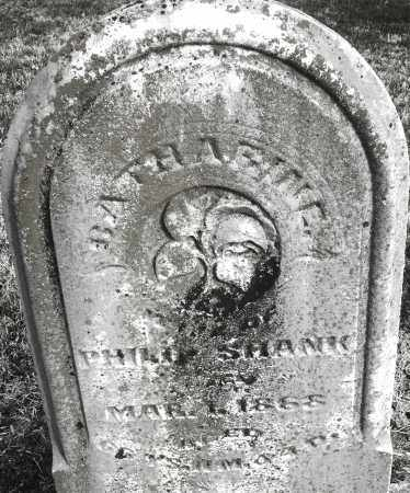 SHANK, CATHARINE - Montgomery County, Ohio | CATHARINE SHANK - Ohio Gravestone Photos