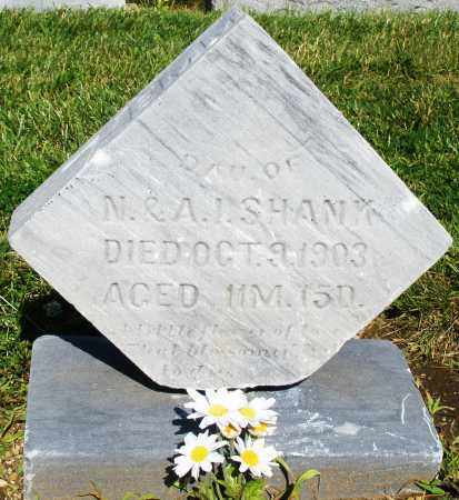 SHANK, DAUGHTER - Montgomery County, Ohio | DAUGHTER SHANK - Ohio Gravestone Photos