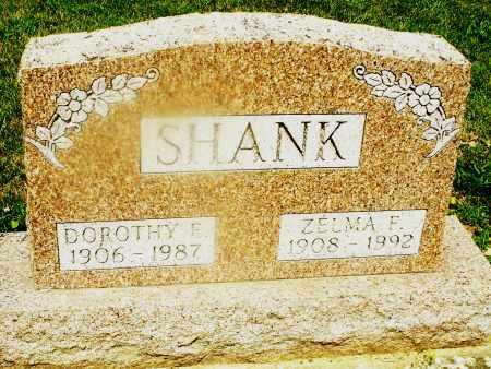 SHANK, DOROTHY E. - Montgomery County, Ohio | DOROTHY E. SHANK - Ohio Gravestone Photos
