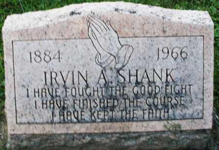 SHANK, IRVIN A. - Montgomery County, Ohio | IRVIN A. SHANK - Ohio Gravestone Photos