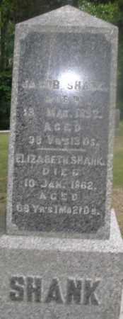 SHANK, JACOB - Montgomery County, Ohio | JACOB SHANK - Ohio Gravestone Photos
