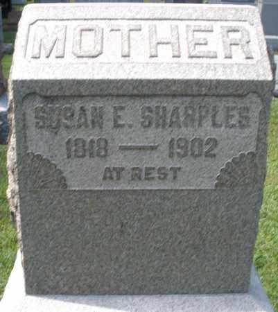 SHARPLES, SUSAN E. - Montgomery County, Ohio   SUSAN E. SHARPLES - Ohio Gravestone Photos