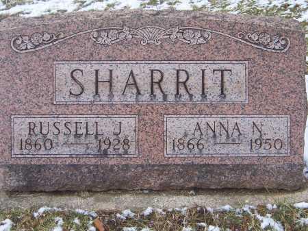 SHARRIT, RUSSEL JOEL - Montgomery County, Ohio | RUSSEL JOEL SHARRIT - Ohio Gravestone Photos