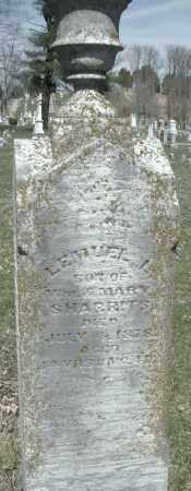 SHARRITS, LEMUEL L. - Montgomery County, Ohio | LEMUEL L. SHARRITS - Ohio Gravestone Photos