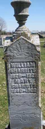 SHARRITS, MARY - Montgomery County, Ohio | MARY SHARRITS - Ohio Gravestone Photos
