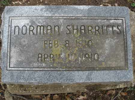 SHARRITTS, NORMAN - Montgomery County, Ohio | NORMAN SHARRITTS - Ohio Gravestone Photos