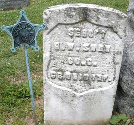 SHAW, B. W. - Montgomery County, Ohio | B. W. SHAW - Ohio Gravestone Photos