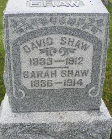 SHAW, DAVID - Montgomery County, Ohio | DAVID SHAW - Ohio Gravestone Photos