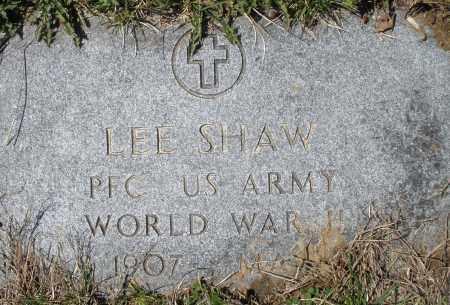SHAW, LEE - Montgomery County, Ohio | LEE SHAW - Ohio Gravestone Photos