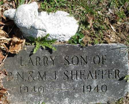 SHEAFFER, LARRY - Montgomery County, Ohio | LARRY SHEAFFER - Ohio Gravestone Photos