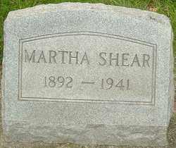 PENNINGTON SHEARER, MARTHA - Montgomery County, Ohio   MARTHA PENNINGTON SHEARER - Ohio Gravestone Photos
