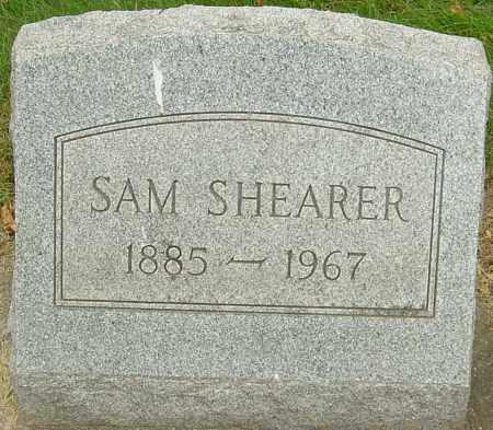 SHEARER, SAM - Montgomery County, Ohio   SAM SHEARER - Ohio Gravestone Photos