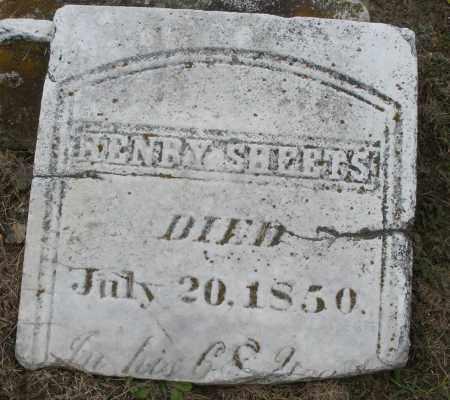 SHEETS, HENRY - Montgomery County, Ohio | HENRY SHEETS - Ohio Gravestone Photos