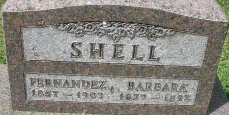 SHELL, BARBARA - Montgomery County, Ohio | BARBARA SHELL - Ohio Gravestone Photos
