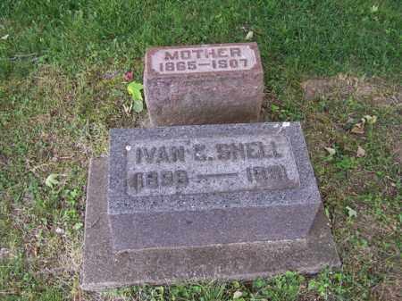 SHELL, IVAN C - Montgomery County, Ohio   IVAN C SHELL - Ohio Gravestone Photos