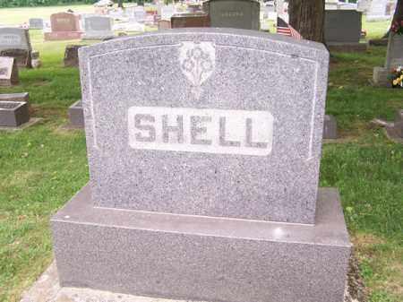SHELL, JOHN A - Montgomery County, Ohio   JOHN A SHELL - Ohio Gravestone Photos