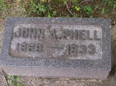 SHELL, JOHN A - Montgomery County, Ohio | JOHN A SHELL - Ohio Gravestone Photos