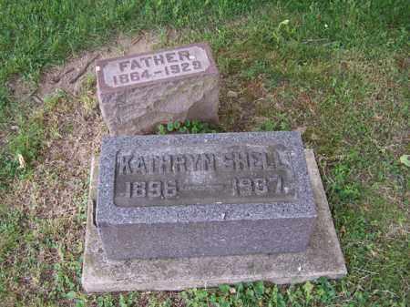 SHELL, KATHRYN - Montgomery County, Ohio | KATHRYN SHELL - Ohio Gravestone Photos
