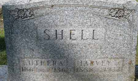 SHELL, LUTHER A. - Montgomery County, Ohio | LUTHER A. SHELL - Ohio Gravestone Photos