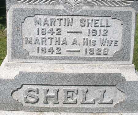 SHELL, MARTIN - Montgomery County, Ohio   MARTIN SHELL - Ohio Gravestone Photos