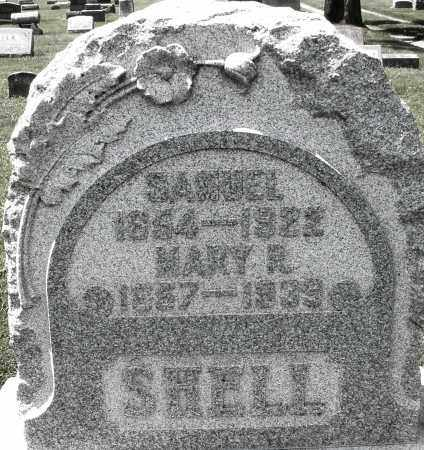 SHELL, SAMUEL - Montgomery County, Ohio | SAMUEL SHELL - Ohio Gravestone Photos