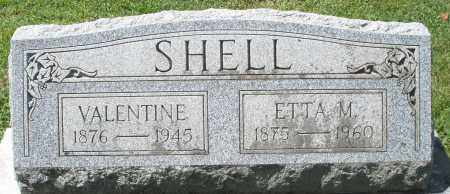 SHELL, ETTA M. - Montgomery County, Ohio | ETTA M. SHELL - Ohio Gravestone Photos