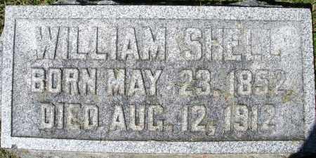 SHELL, WILLIAM - Montgomery County, Ohio | WILLIAM SHELL - Ohio Gravestone Photos