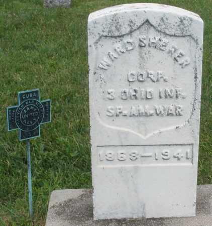 SHERER, WARD - Montgomery County, Ohio   WARD SHERER - Ohio Gravestone Photos