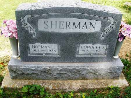 SHERMAN, NORMAN L. - Montgomery County, Ohio | NORMAN L. SHERMAN - Ohio Gravestone Photos