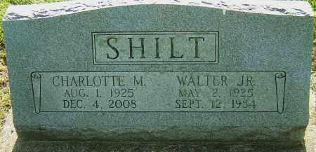 SHILT JR, WALTER - Montgomery County, Ohio | WALTER SHILT JR - Ohio Gravestone Photos