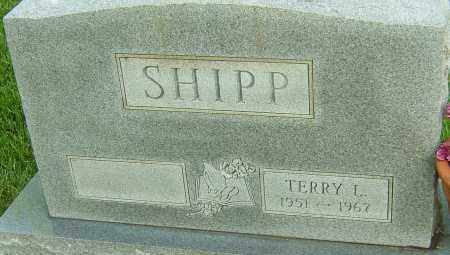SHIPP, TERRY L - Montgomery County, Ohio   TERRY L SHIPP - Ohio Gravestone Photos