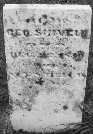 SHIVELY, GEORGE - Montgomery County, Ohio | GEORGE SHIVELY - Ohio Gravestone Photos