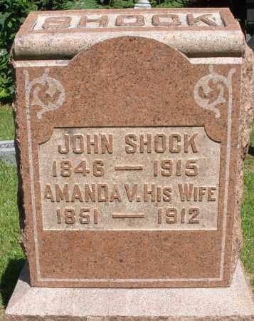 SHOCK, JOHN - Montgomery County, Ohio   JOHN SHOCK - Ohio Gravestone Photos