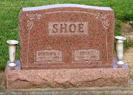 SHOE, BENJAMIN F. - Montgomery County, Ohio | BENJAMIN F. SHOE - Ohio Gravestone Photos