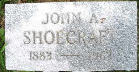 SHOECRAFT, JOHN A. - Montgomery County, Ohio | JOHN A. SHOECRAFT - Ohio Gravestone Photos