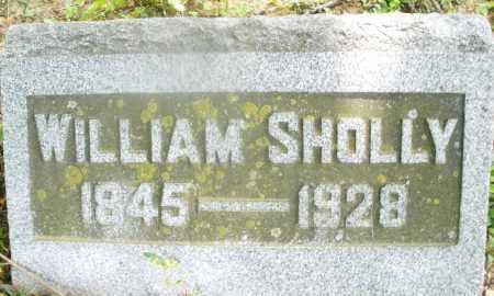 SHOLLY, WILLIAM - Montgomery County, Ohio   WILLIAM SHOLLY - Ohio Gravestone Photos