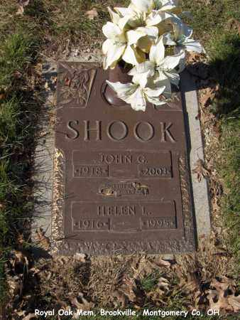 SHOOK, HELEN - Montgomery County, Ohio | HELEN SHOOK - Ohio Gravestone Photos