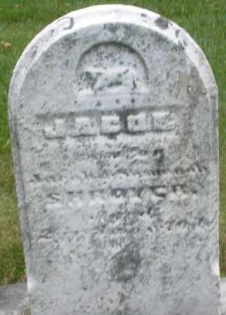 SHROYER, JACOB - Montgomery County, Ohio | JACOB SHROYER - Ohio Gravestone Photos