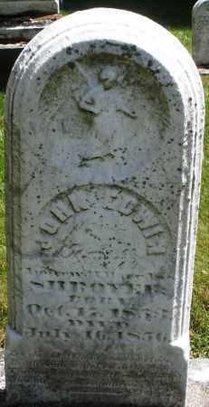 SHROYER, JOHN EDWIN - Montgomery County, Ohio | JOHN EDWIN SHROYER - Ohio Gravestone Photos