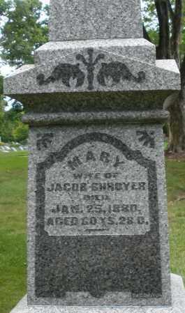 SHROYER, MARY - Montgomery County, Ohio | MARY SHROYER - Ohio Gravestone Photos