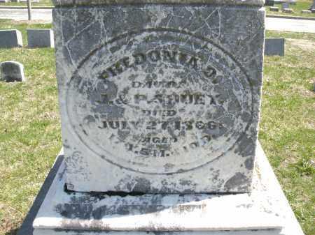 SHUEY, FHEDONIA ? - Montgomery County, Ohio   FHEDONIA ? SHUEY - Ohio Gravestone Photos