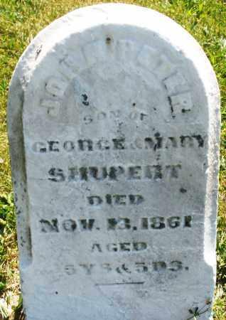 SHUPERT, JOHN PETER - Montgomery County, Ohio | JOHN PETER SHUPERT - Ohio Gravestone Photos