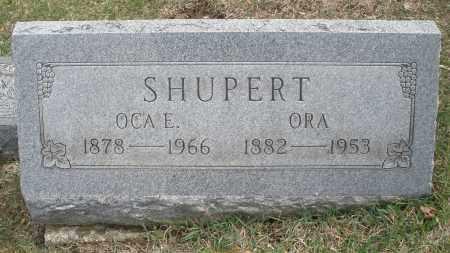 SHUPERT, OCA E. - Montgomery County, Ohio | OCA E. SHUPERT - Ohio Gravestone Photos
