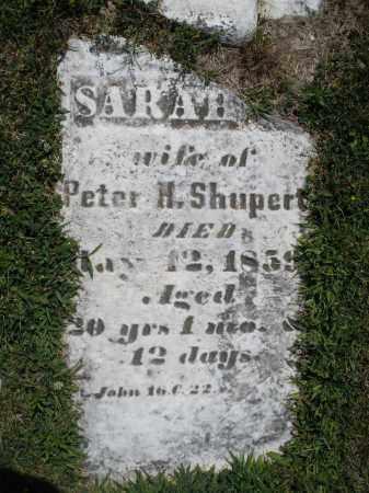 SHUPERT, SARAH M. - Montgomery County, Ohio | SARAH M. SHUPERT - Ohio Gravestone Photos