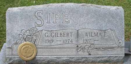 SIPE, WILMA E. - Montgomery County, Ohio   WILMA E. SIPE - Ohio Gravestone Photos