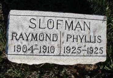 SLOFMAN, RAYMOND - Montgomery County, Ohio | RAYMOND SLOFMAN - Ohio Gravestone Photos