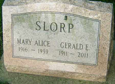 SLORP, GERALD E - Montgomery County, Ohio | GERALD E SLORP - Ohio Gravestone Photos