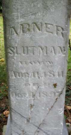 SLUTMAN, ABNER - Montgomery County, Ohio | ABNER SLUTMAN - Ohio Gravestone Photos