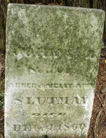SLUTMAN, JOHN - Montgomery County, Ohio | JOHN SLUTMAN - Ohio Gravestone Photos